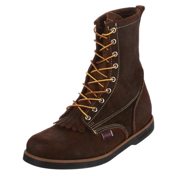 Sebago Men's 'Cumberland' Red/ Brown Boots