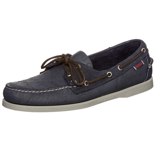 Sebago Men's 'Docksides' Blue Boat Shoes - Free Shipping Today ...