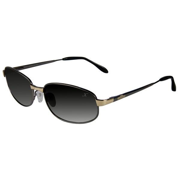 Xezo Men's 'Cruiser 330' Limited-Edition Titanium Sport Sunglasses