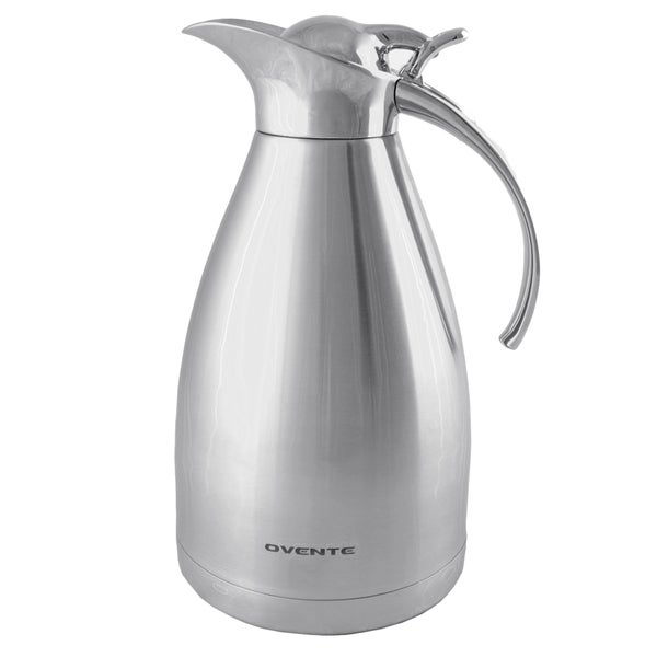 Ovente 1.5-Liter Double Stainless Steel Vacuum body Carafe