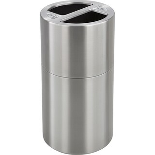 Safco Dual Bin Waste Recycling Receptacle
