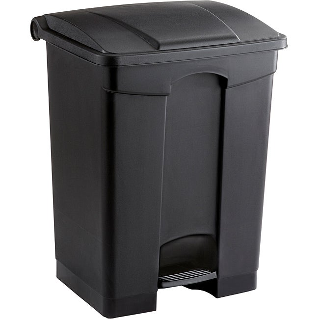 Safco 17 gal. Plastic Step-on Waste Receptacle