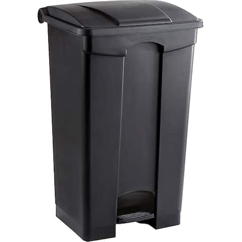Safco 23 gal. Plastic Step-on Waste Receptacle