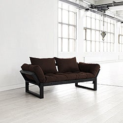 Chocolate Brown Fresh Futon Edge