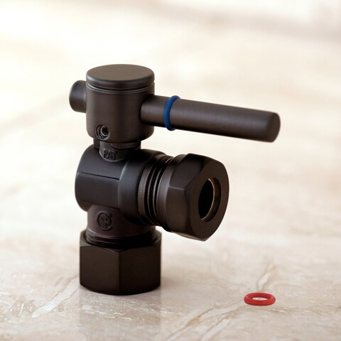 Single-handle Oil Rubbed Bronze Angle Valve Stop