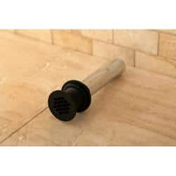 Vessel Sink Oil Rubbed Bronze Grid Drain without Overflow - Oil Rubbed bronze