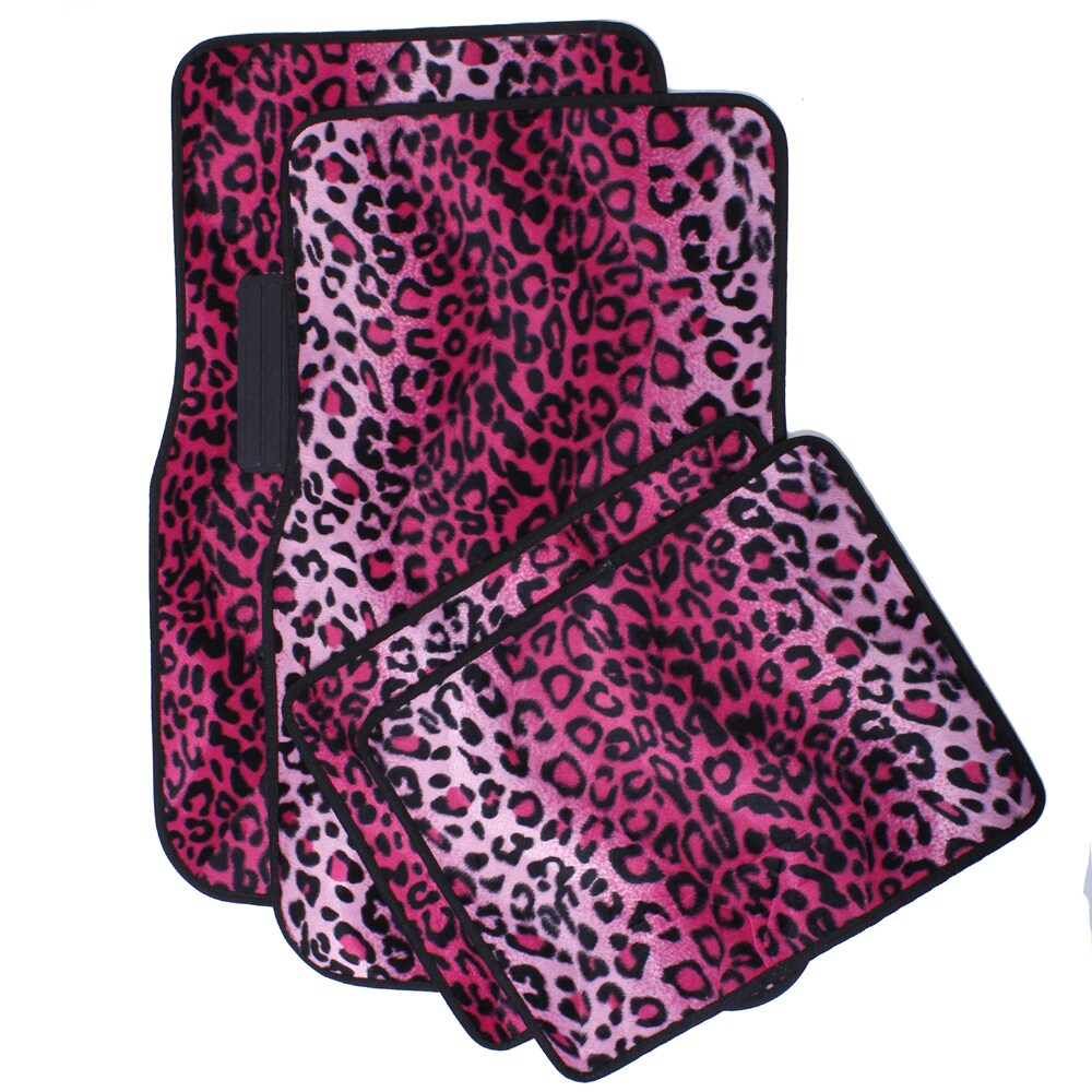 The Car Cover Oxgord Velour / Plush Safari Pink Cheetah /...
