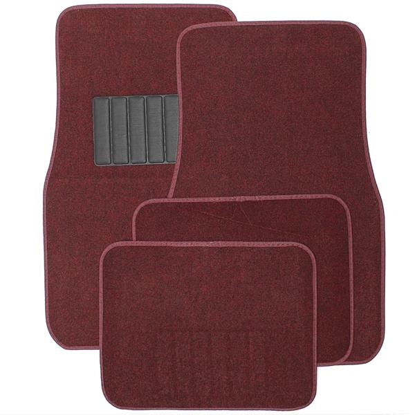 car floor mats. Oxgord Universal Burgundy Car Floor Mats (Set Of 4) A
