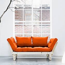 Orange Fresh Futon Beat Com Ping The Best Deals On Futons