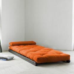 Shop Orange Fresh Futon Figo Free Shipping Today