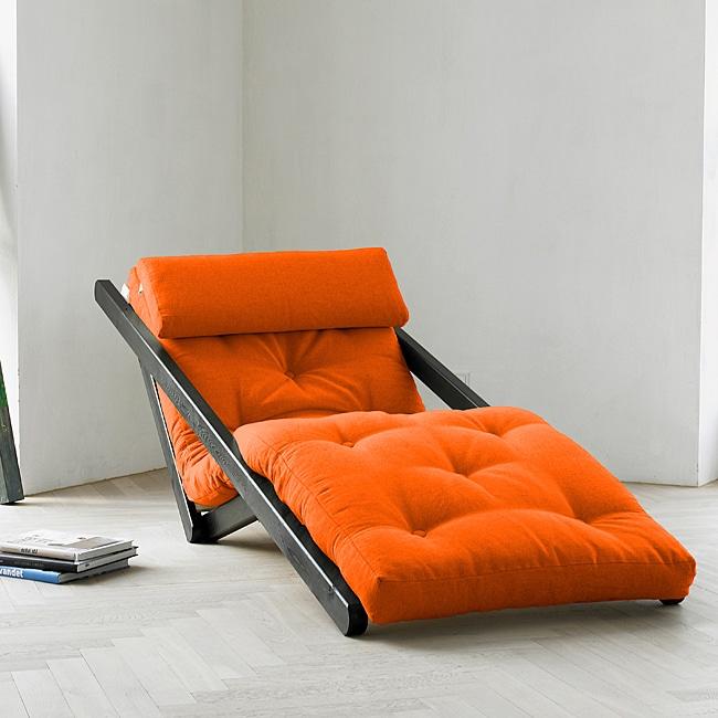 Orange Fresh Futon Figo Free Shipping Today Overstock