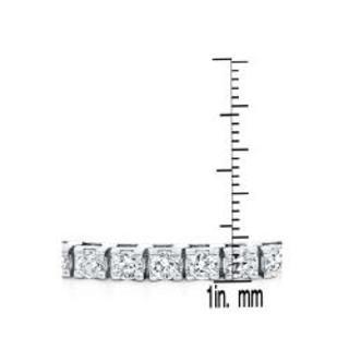 Auriya 14k Gold 3 2/5ct TDW 8-inch Diamond Tennis Bracelet