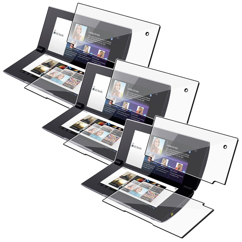 INSTEN 2-LCD Kit Screen Protector for Sony Tablet S2 (Pack of 3)