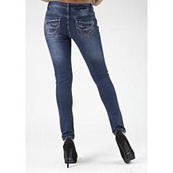 MDZ Junior's 'Miki' Embroidered Skinny Jeans - Thumbnail 1