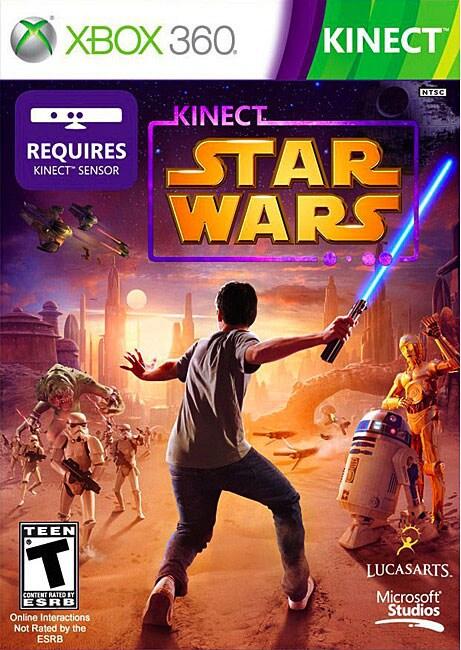 Xbox 360 - Kinect Star Wars