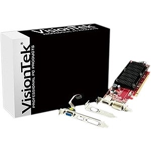 Visiontek Radeon HD 6350 Graphic Card - 1 GB DDR3 SDRAM - PCI Express