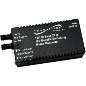 Transition Networks Mini M/E-PSW-FX-02(SC) Media Converter