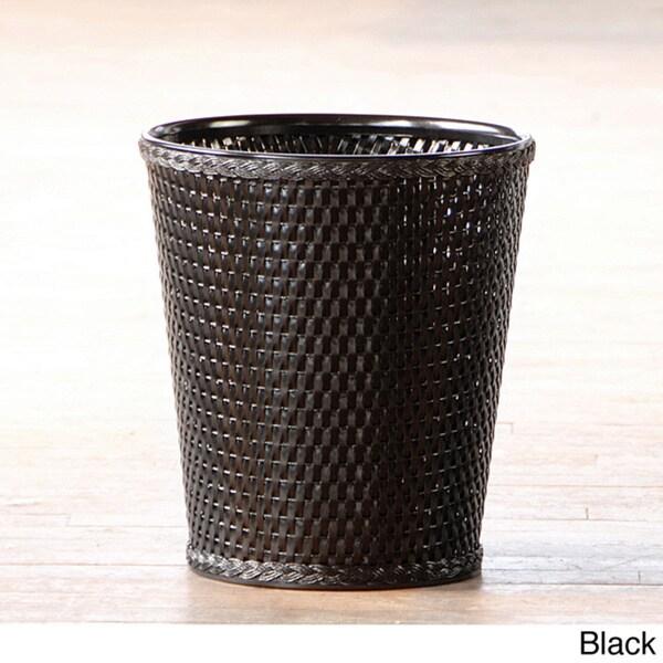 Carter Round Woven Wastebasket