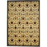 Herat Oriental Indo Hand-tufted Tibetan Wool Rug - 8' x 11'