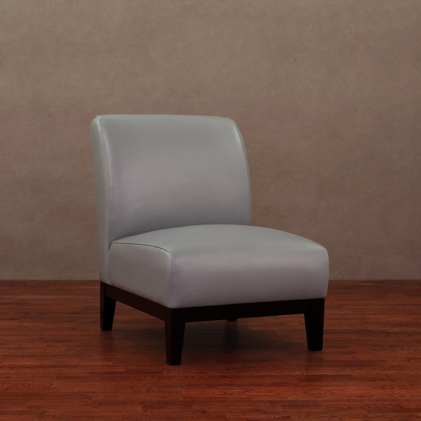 Cole Charcoal Grey Leather Chair