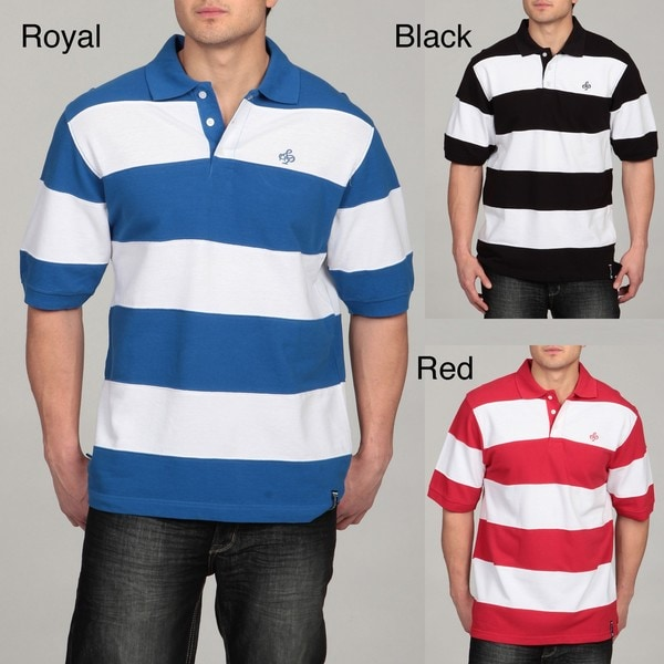 Southpole Men's Striped Polo Shirt
