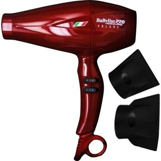 BaBylissPRO Nano V1 Ferrari Red 2000-watt Hair Dryer