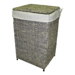America Basket Company Woven Maize Full-Load Lined Hamper