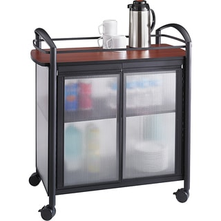 Safco Impromptu Refreshment Hospitality Cart