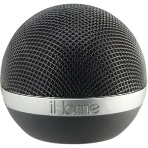 iHome iDM8B Speaker System - Wireless Speaker(s) - Black