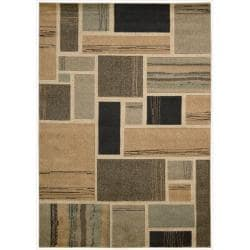Nourison Vogue Multicolor Geometric Rug ( 7'9 x 9'9 )