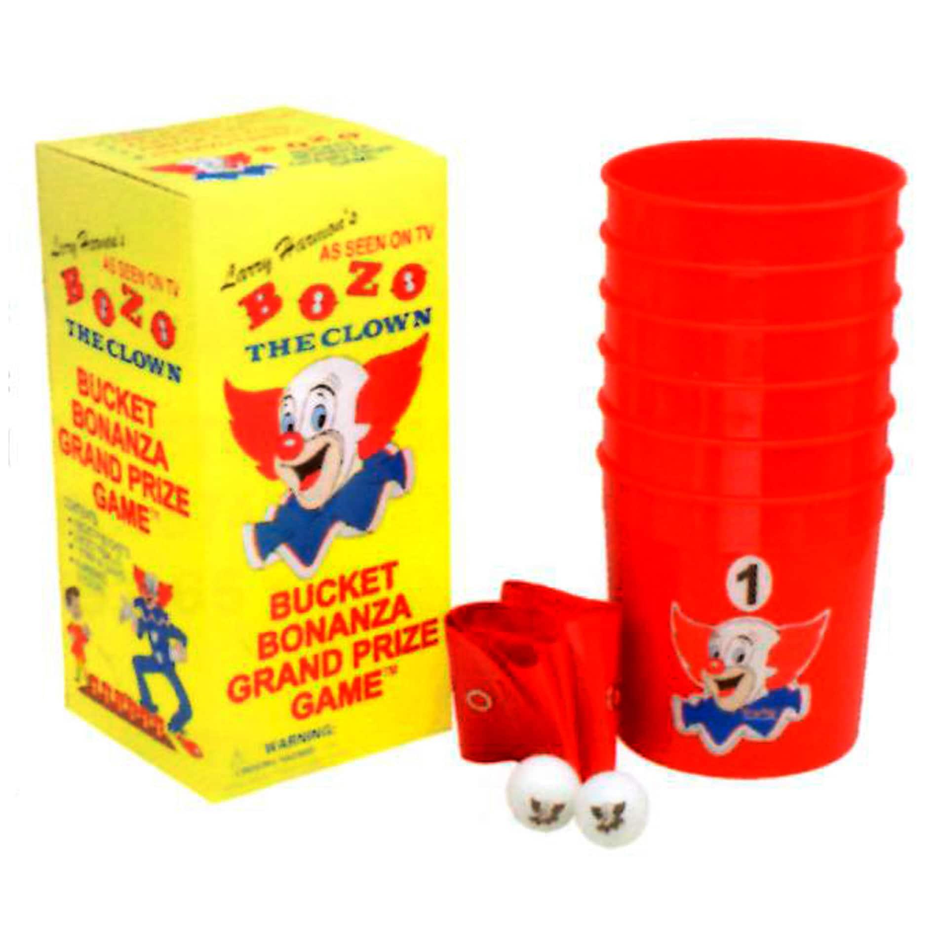 Nostalgic Bozo Bucket Bonanza Grand Prize Game by Warm Fuzzy Toys