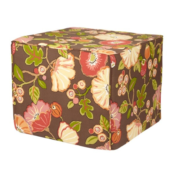 Brooklyn Outdoor 22-Inch Square Ottoman