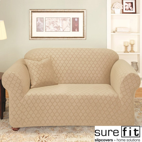 SureFit Stretch Marrakesh 1-piece Loveseat Slipcover