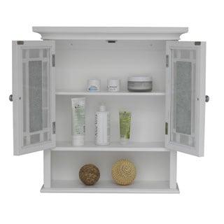 Jezzebel Wall Cabinet By Elegant Home Fashions