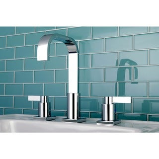 Widespread 2 handle Bathroom Faucet with Pop-up Drain