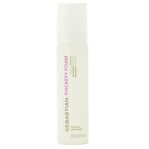 Sebastian Thickefy Foam 6.8-ounce Weightless Hair Thickener