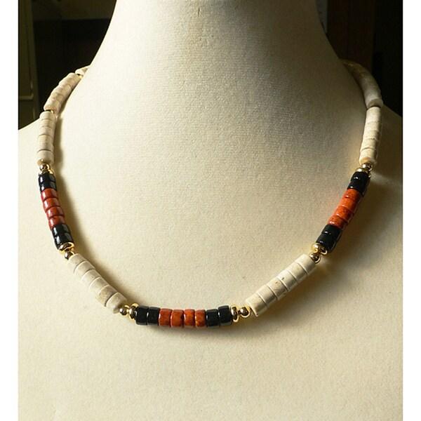 Men's Riverstone 'Diamond Head' Necklace