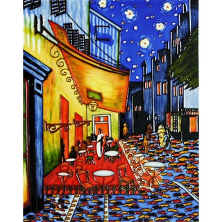 Van Gogh 'Cafe Terrace at Night' Wall Tile