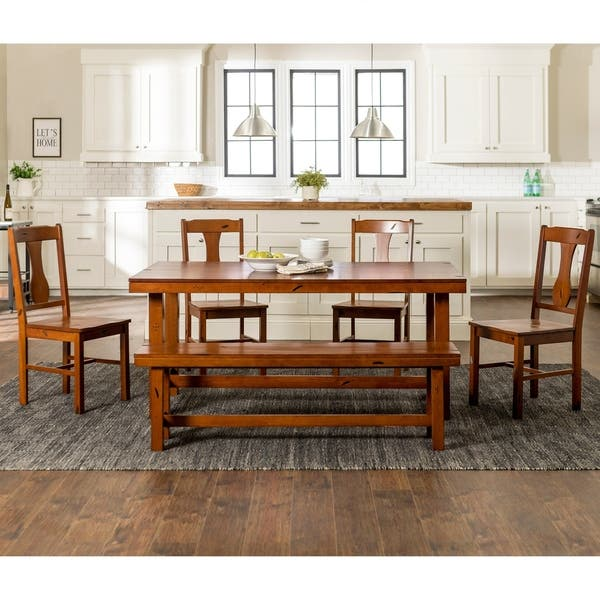 Dining Room Sets Distressed Wood