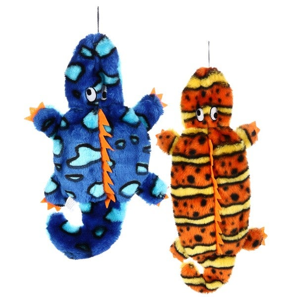 Invincibles Gecko Dog Toys (Pack of 2)