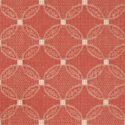 Safavieh Bay Red/ Natural Indoor/ Outdoor Rug (5'3 x 7'7) - Thumbnail 2