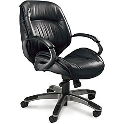 Mayline Ultimo Series 100 Mid-back Leather Chair
