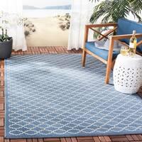 Safavieh Blue/Beige Indoor/Outdoor R - 9' x 12'