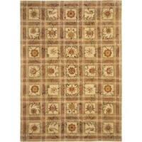Safavieh Handmade Hampton Beige Wool Rug - 8' x 10'