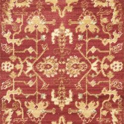 Safavieh Oushak Red/ Cream Powerloomed Rug (2'6 x 4')