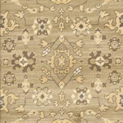 "Safavieh Oushak Green/Cream Oriental-Pattern Powerloomed Rug (2'6"" x 4') - Thumbnail 2"