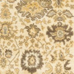 Safavieh Oushak Cream/ Brown Rug (2'6 x 4') - Thumbnail 2