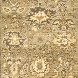 Safavieh Oushak Green/ Brown Rug (2'6 x 4') - Thumbnail 2