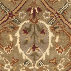 Safavieh Handmade Mahal Green/ Beige New Zealand Wool Rug (2'6 x 4') - Thumbnail 2