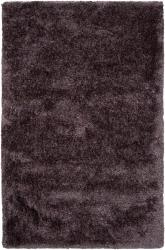 Hand-woven Artesia Purple Super Soft Shag Rug (5' x 8')